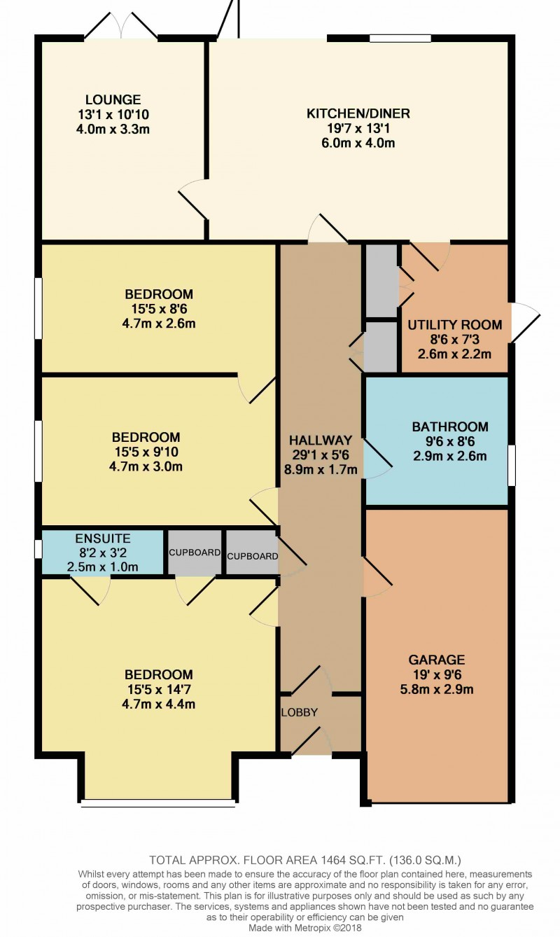 Floorplan for The Sidings, Plot 2
